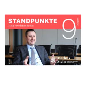 Cover Newsletter Standpunkte 9